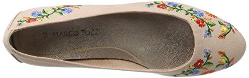 Marco Tozzi Damen 22123 Geschlossene Ballerinas Pink (Rose Comb 596)