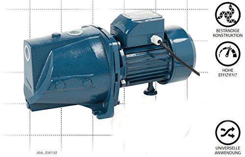 Wasserpumpe 80l/min 1500W Jetpumpe Gartenpumpe Hauswasserwerk Kreiselpumpe Hyper