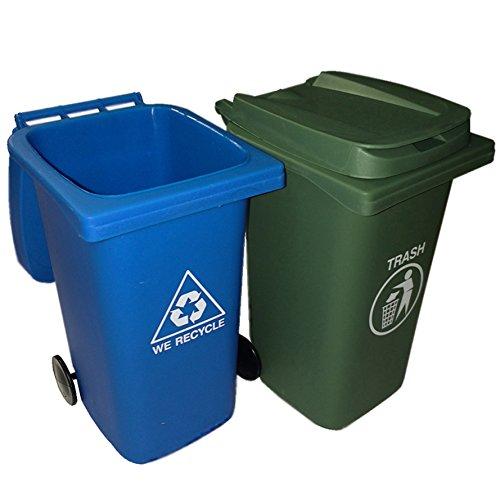 bigmouth-inc-juego-de-mini-basureros-y-recipientes-de-reciclaje