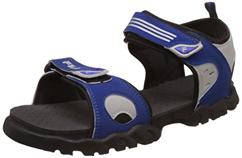 Fila Men's Salomon Royal Blue/Grey/Black Sandals and Floaters - 6 UK/India (40 EU)  available at amazon for Rs.519