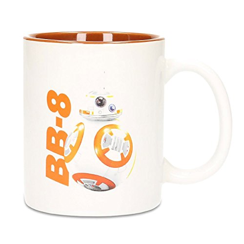 SD Toys SDTSDT89984 - Tasse aus Keramik, Design BB-8 Star Wars, Orange