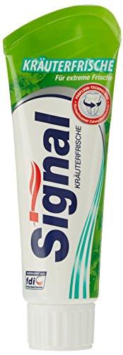 Signal Zahnpasta Kräuter Zahncreme, 75 ml