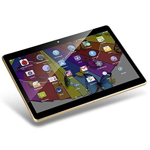 tablet otg Tablet Android da 10 pollici Octa Core CPU 4 GB RAM 64 GB Memoria interna WiFi Fotocamera GPS Doppia SIM senza blocco rete 3G tablet (nero)