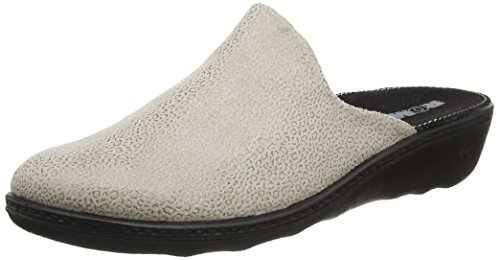ROMIKA Romilastic 305, Chaussons Mules Femme Beige (Taupe)