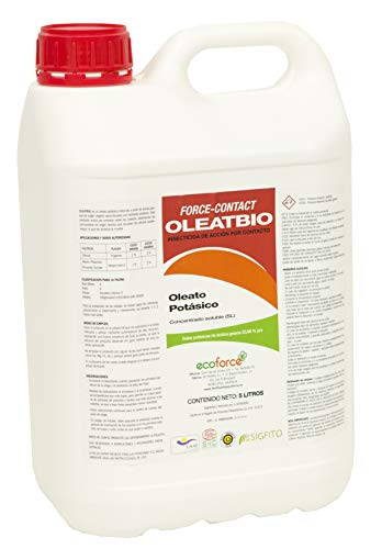 CULTIVERS Jabon potásico 5 L. Insecticida ecologico