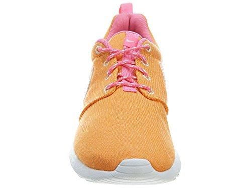 Nike Roshe Run (GS) Scarpe da Corsa, Bambina ATOMIC MANGO/PINK GLOW//WHITE