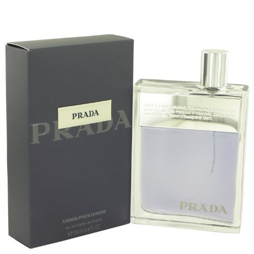 Prada Pour Homme/men, Eau de Toilette, Vaporisateur/Spray 100 ml, 1er Pack (1 x 100 ml) (Blossom Spray Cologne Orange)