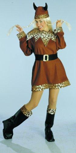 -Lady, Größe M (Wikinger Lady Kostüm)