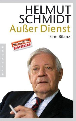 Buchseite und Rezensionen zu 'Außer Dienst: Eine Bilanz' von Helmut Schmidt