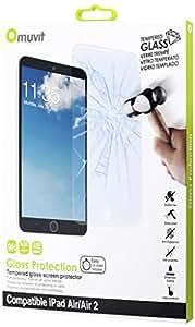 Muvit MUSCP0732 Film de Protection d'écran pour iPad Air/Air2 Transparent