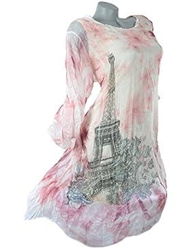 Grisodonna - Camisas - Túnica - Floral - para mujer