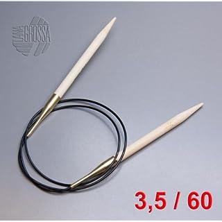 Lana Grossa Rundstricknadel Bambus 60cm / 3,5mm