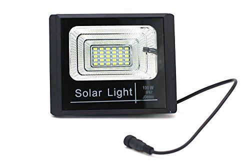Luce con pannello fotovoltaico: luce con pannello solare faro led w