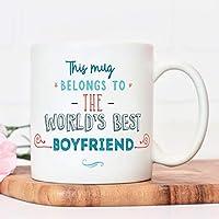 Boyfriend mug | boy friend gifts | mugs for men man presents | thank you | birthday christmas