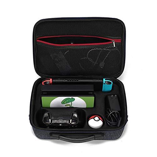 niyin204 Transporttasche für Spielekonsole NS Schutzhülle Aufbewahrungstasche Pokemon Zubehör Organizer Aufbewahrungstasche tragbar Organizer Schutz aus Hartschale