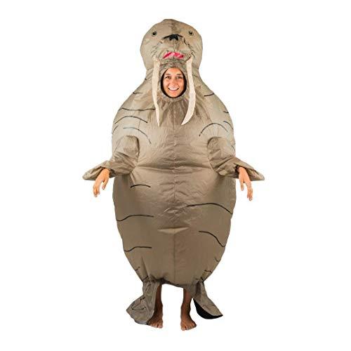 Walross Kostüm - Bodysocks Fancy Dress 5060298041296 Kostüm, Unisex Adult, mehrfarbig
