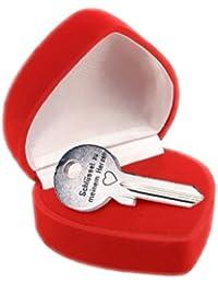Der Schlüssel zu meinem Herzen - in Herz-Box (incl. pers. Gravur)