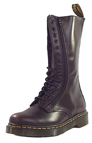 Dr Martens Leder Vintage 9733 Hohe Stiefel, rot, (UK 4) [37]