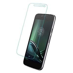 Mobizworld Premium tempered glass for Moto G4 Play