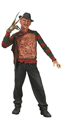 Nightmare On Elm Street 3 - Freddy Krueger Lebt - Actionfigur - Freddy Krüger - 18 cm (Freddy Und Jason Kostüme)