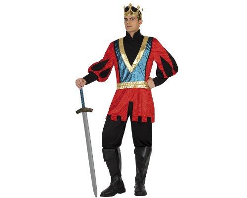 Imagen de atosa  disfraz de caballero para hombre, talla m/l 18311
