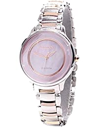 Citizen Analog Mother of Pearl Dial Women's Watch - EM0384-56D