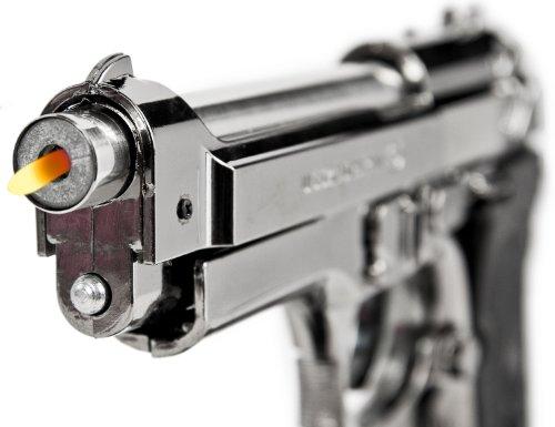 Nerd Clear NEU!! RIESEN FEUERZEUG!!! Beret. FEUERZEUG Pistole 1 : 1!! MEGA Gross