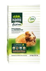 Repas Premium Optima pour cochon d'inde, 2,5 kg. - HAMIFORM