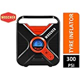Woscher 802D Digital Car Tyre Inflator (Black)