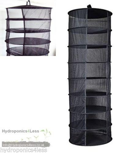 Zum Aufhängen Trocknen Rack 8Etagen Hydrokultur Grow Zelt Kräuter Bud Pflanze Kleidung Trocknen Net (Jr Kleidung)