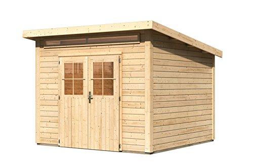 Unbekannt Karibu Woodfeeling Gartenhaus Kulpin 6 natur 28 mm