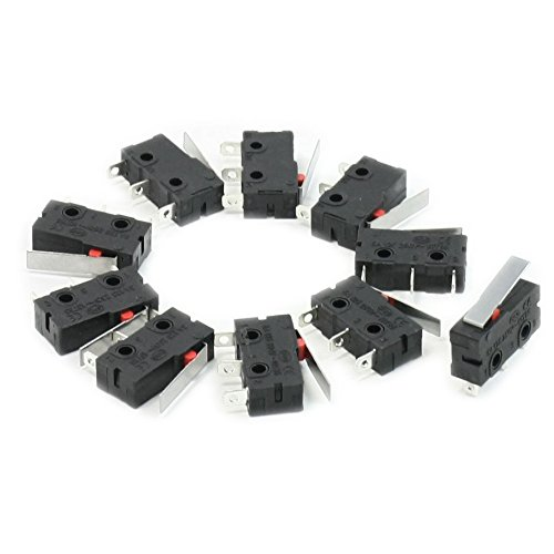 sodialr-10-pcs-ac-125v-5a-spdt-1no-1nc-droite-courte-levier-de-charniere-mini-micro-switch
