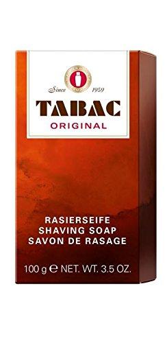Tabac homme originale / uomini, sapone da barba originale, 1er Pack (1 x 100g)