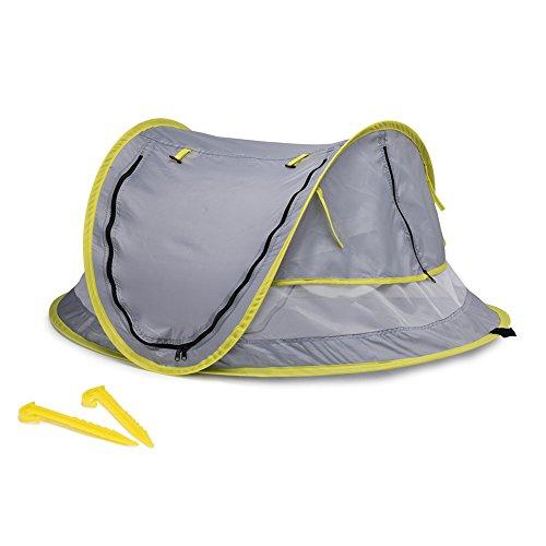 Hyindoor Tienda de Campaña para Bebé con Mosquitero Plegable Cuna Portátil para Viaje con Protección Solar anti UV50+