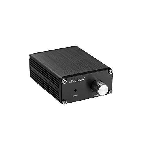 Nobsound 100W Subwoofer / Full Frequency Mono Channel Digital Power Amplifier Audio Mini Amp (Full Frequency, Black)