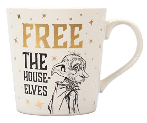 Taza Desayuno Harry Potter Dobby Free The House Elves, 325ml
