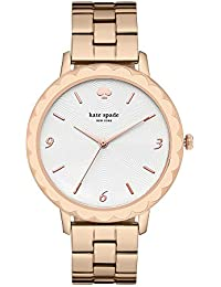 Kate Spade Analog White Dial Women's Watch-KSW1495