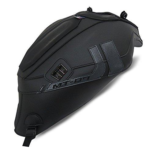 Tankschutzhaube Bagster Yamaha MT-07 2017 grainy schwarz matt