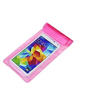 Red Knight Pink Waterproof Mobile pouch and Sleeves for All Smartphones upto 5.5 Inch