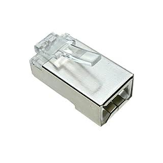 BeMatik - Conector FTP Cat.6 RJ45 macho para crimpar a cable 25-pack (B0097PZAZO) | Amazon price tracker / tracking, Amazon price history charts, Amazon price watches, Amazon price drop alerts