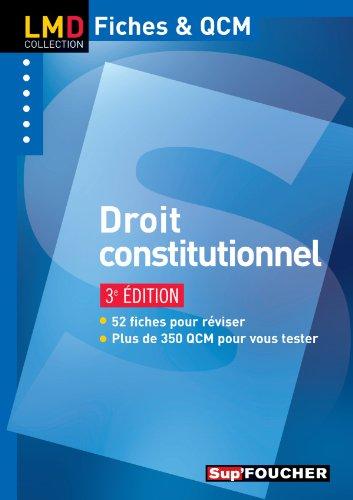 Droit constitutionnel 3e édition