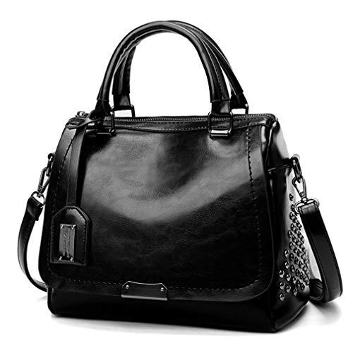 Umhängetaschen für Frauen Messenger Bags Black -