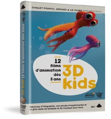 Preisvergleich Produktbild 3D Kids - 12 Films Animated Collection ( Oktapodi / The Great Escape / Al Dente / Bois / Frigo / Herbstlaub / Kudan / Jeu d'enfants / PG1 - 13 / Nicolas [ NON-USA FORMAT,  PAL,  Reg.0 Import - France ] by Olivier Vogel