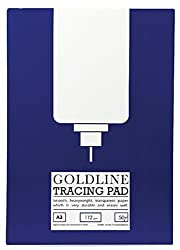 A3 Goldline Tracing Paper Pad 50 Sheets (112gsm)