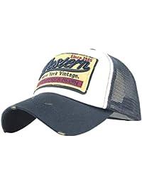 WINWINTOM Unisex Baseball Cap Retro Cap Mesh Hüte Vintage Basecap Motors  Racing Motorcycle Snap back Baseballkappe a129aee5b8