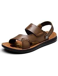 LEDLFIE Sandales pour Hommes Baotou Outdoors Chaussures Décontractées  Sandales Crash Chaussures pour Hommes,Black- 26a99981bfc6