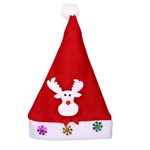 lowing Elk Christmas Light Hat Luminous Hats Xmas Gifts Festival Party Costume Supplies (Kid Flash Costume)