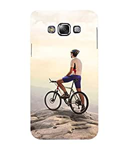 Mental Mind 3D Printed Plastic Back Cover For Samsung Galaxy E7- 3DSAME7-G1360