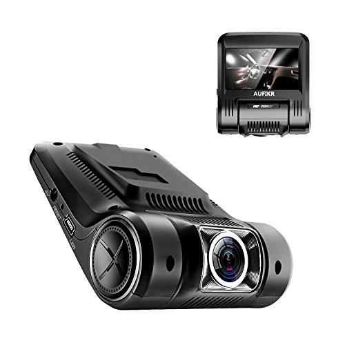 Dashcam für das Auto von Aufikr, Full HD, 1080P, DVR Mini-Dashcam, Videoaufnahmegerät für Autofahrten mit Weitwinkelobjektiv, Loop-Aufnahmen, G-Sensor, Bewegungserkennung und Nachtsicht
