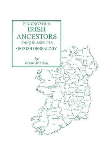 Portada del libro Finding Your Irish Ancestors: Unique Aspects of Irish Genealogy by Brian Mitchell (2001-08-02)